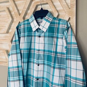 Men's express button down